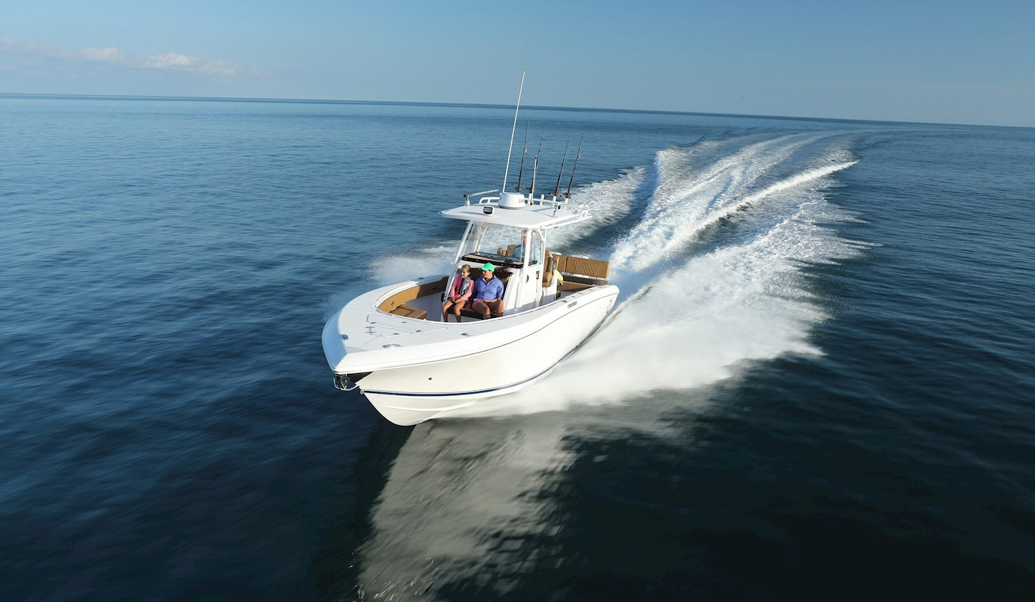 Blue Water Boats >> Bluewater Sport Series Fishing Boats Fountain Powerboats